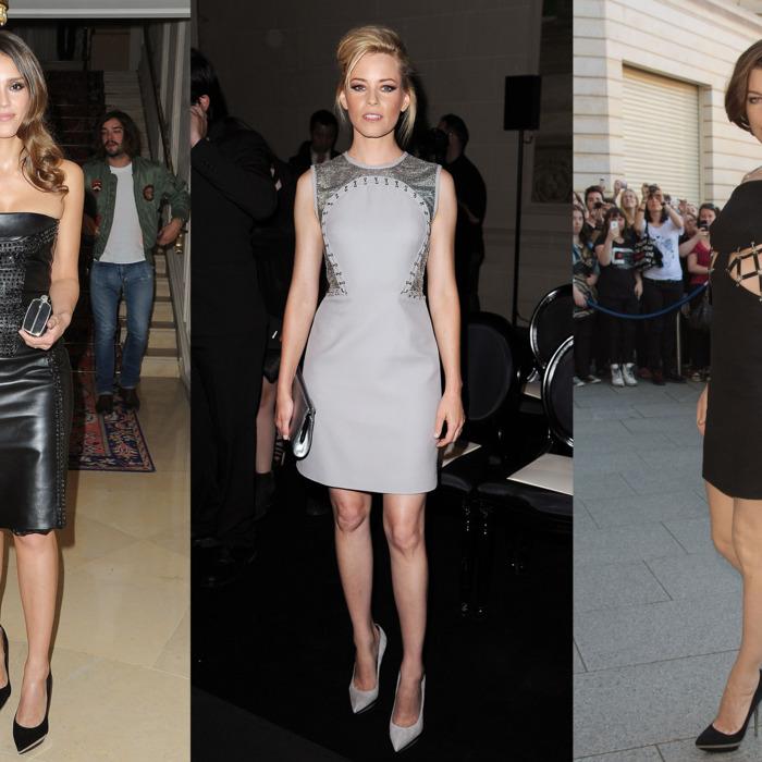 Jessica Alba, Elizabeth Banks, and Milla Jovovich.