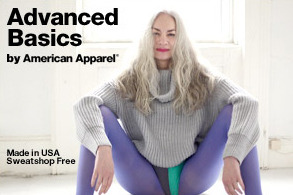 1920a317efeb Of Course There s a Crotch Shot in American Apparel s Advanced Basics  Campaign