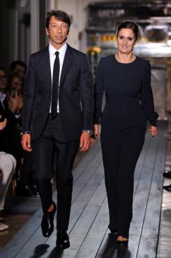 Pier Paolo Piccioli and Maria Grazia Chiuri.