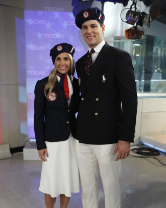Ralph Lauren's U.S. Olympic team uniforms.