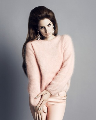 Lana Del Rey, shot by Inez & Vinoodh for H&M.