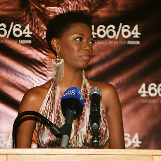 NEW YORK, NY - JULY 18: Lira attends the 466/64 Fashion Collection Preview In Celebration Of Nelson Mandela International Day at South African Consulate on July 18, 2012 in New York City. (Photo by Kristen Blush/Getty Images)