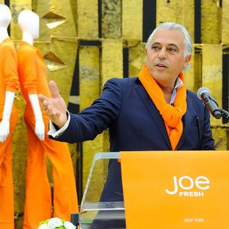 Joe Fresh designer Joseph Mimran speaks at the Joe Fresh Flagship Store opening on March 29, 2012 in New York City.