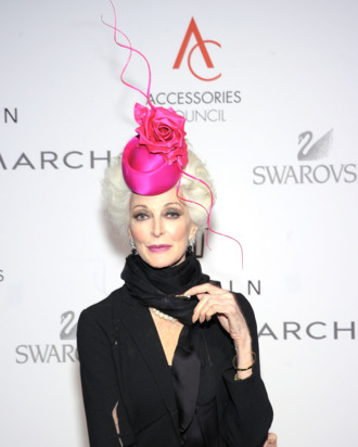 Carmen Dell'Orefice.