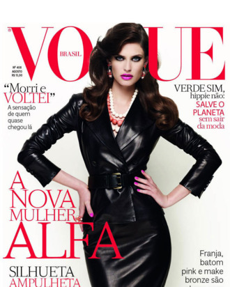 Bianca Balti for Brazilian <em>Vogue</em>.