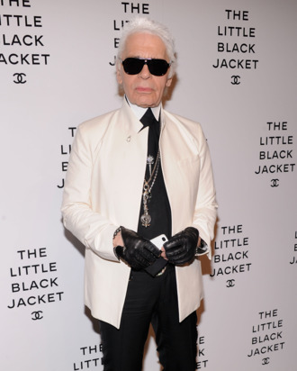 Karl Lagerfeld attends Chanel's:The Little Black Jacket Event at Swiss Institute on June 6, 2012 in New York City.