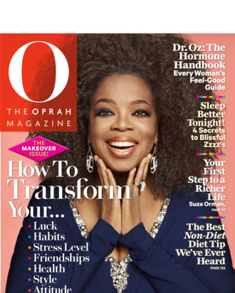 Oprah's natural hair.