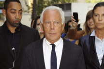 Giorgio Armani arrives for the Giorgio Armani Prive Haute Couture Fall/Winter 2011/2012 show as part of Paris Fashion Week at Palais de Chaillot on July 5, 2011 in Paris, France.