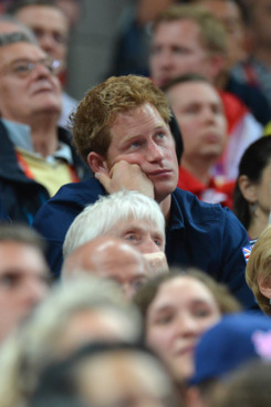 Prince Harry upon hearing the news he'd <em>only</em> scored a B+
