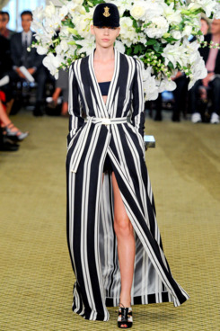 We didn't know it then, but this was Bill Blass's final womenswear show.