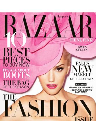Gwen Stefani for <em>Harper's Bazaar</em>.
