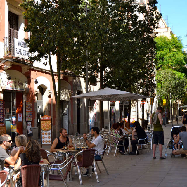 A Lazy Day in Poble Sec, One of Barcelona's Liveliest Neighborhoods