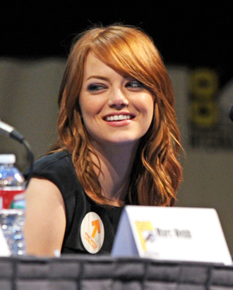 SAN DIEGO, CA - JULY 22: Actress Emma Stone speaks at