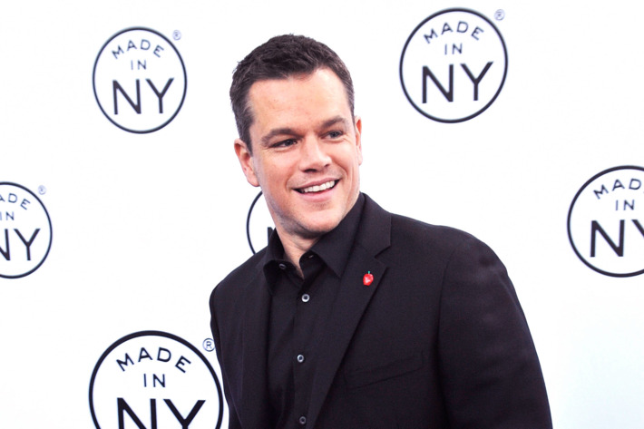 NEW YORK, NY - JUNE 06:  Event honoree, actor Matt Damon attends the 6th annual Made In NY awards at Gracie Mansion on June 6, 2011 in New York City.  (Photo by Gary Gershoff/Getty Images)