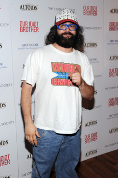 """NEW YORK, NY - AUGUST 22:  Comedian Judah Friedlander attends The Cinema Society & Altoids screening of The Weinstein Company's """"Our Idiot Brother"""" at 1 MiMA Tower on August 22, 2011 in New York City.  (Photo by Jamie McCarthy/Getty Images)"""