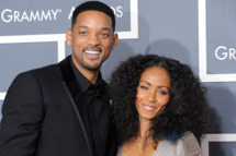 Will Smith and Jada Pinkett Smith arrive for the 53rd annual Grammy Awards at the Staples Center in Los Angeles on February 13, 2011.  AFP PHOTO / Robyn Beck (Photo credit should read ROBYN BECK/AFP/Getty Images)