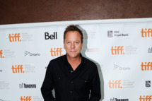 "TORONTO, ON - SEPTEMBER 11:  Actor Keifer Sutherland attends the premiere of ""I'm Yours"" at the Isabel Bader Theatre during the 2011 Toronto International Film Festival on September 11, 2011 in Toronto, Canada.  (Photo by Aaron Harris/Getty Images)"