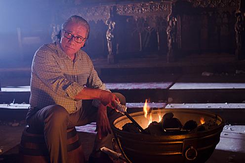 Edward James Olmos as Professor Gellar (Season 6, episode 2) - Photo: Randy Tepper/Showtime - Photo ID: dexter_602_1169
