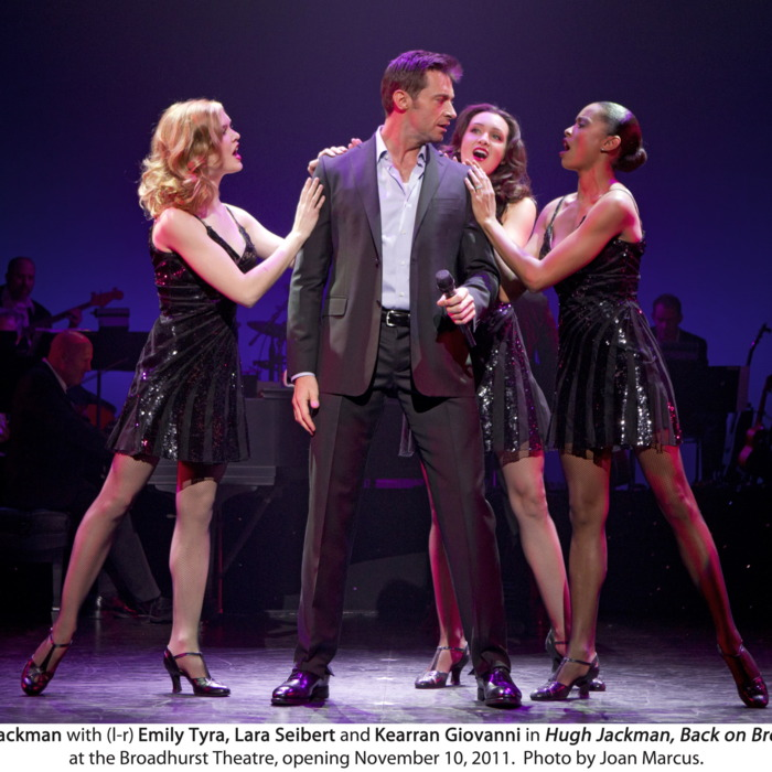 Hugh Jackman, Back on Broadway Broadhurst Theatre