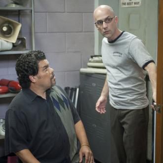 Luis Guzman as Luis Guzman, Jim Rash as Dean Pelton in Community Episode 308: