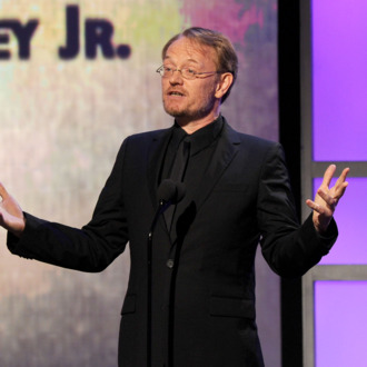 BEVERLY HILLS, CA - OCTOBER 14: Actor Jared Harris speaks onstage during The 25th American Cinematheque Award Honoring Robert Downey Jr. held at The Beverly Hilton hotel on October 14, 2011 in Beverly Hills, California. (Photo by Kevin Winter/Getty Images)