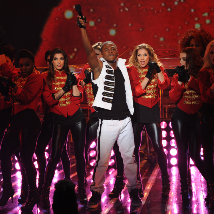 THE X FACTOR: Top 7 Performance: Marcus Canty performs in front of the judges on THE X FACTOR airing on Wednesday, Nov. 30 (8:00-9:30 PM ET/PT) on FOX. CR: Ray Mickshaw / FOX.
