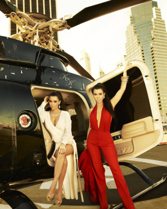 KOURTNEY & KIM TAKE NEW YORK -- Season 4 -- Pictured: (l-r) Kim Kardashian, Kourtney Kardashian -- Photo by: Timothy White/E! Entertainment