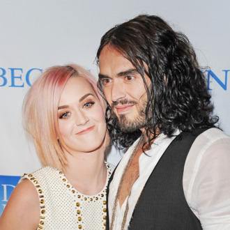 LOS ANGELES, CA - DECEMBER 03: Singer Katy Perry (L) and actor Russell Brand attend the 3rd Annual