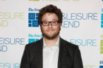 NEW YORK, NY - JANUARY 08: Actor Seth Rogen attends the New York Times TimesTalk during the 2012 NY Times Arts & Leisure weekend at The Times Center on January 8, 2012 in New York City. (Photo by Cindy Ord/Getty Images)