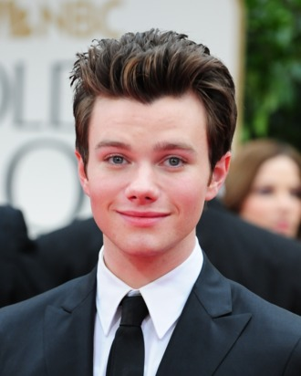Actor Chris Colfer poses on the red carpet for the 69th annual Golden Globe Awards at the Beverly Hilton Hotel in Beverly Hills, California, January 15, 2012. AFP PHOTO / Frederic J. BROWN (Photo credit should read FREDERIC J. BROWN/AFP/Getty Images)