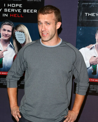 NEW YORK - SEPTEMBER 03: Screenwriter Tucker Max attends the New York premiere of