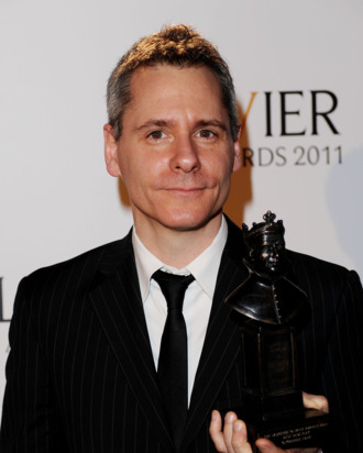 LONDON, ENGLAND - MARCH 13: Bruce Norris, winner of Best New Play for