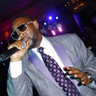 NEW YORK, NY - SEPTEMBER 15: R. Kelly performs at Arise Made In Africa Spring 2012 Designer Collective at Mercedes Benz NY Fashion Week Afterparty at Jumeirah Essex House on September 15, 2011 in New York City. (Photo by Donna Ward/Getty Images for Arise Made in Africa)