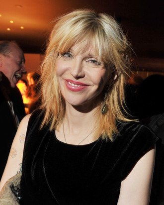 NEW YORK, NY - DECEMBER 13: Singer/actress Courtney Love attends the after party for the Giorgio Armani & Cinema Society screening of
