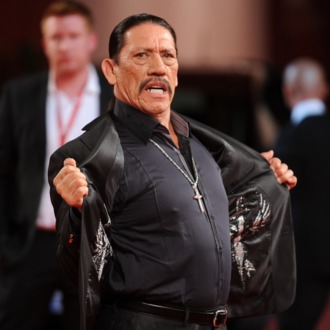 Mexican actor Danny Trejo arrives for the screening of
