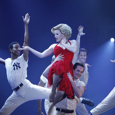 SMASH -- Pilot -- Pictured: (center) Megan Hilty as Ivy Bell