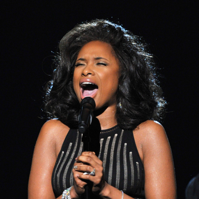 LOS ANGELES, CA - FEBRUARY 12: Singer Jennifer Hudson performs onstage at the 54th Annual GRAMMY Awards held at Staples Center on February 12, 2012 in Los Angeles, California. (Photo by Kevin Winter/Getty Images)