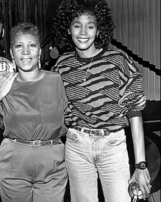 Narada Michael Walden, Aretha Franklin, Whitney Houston, mid-1980s