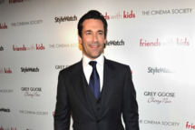 "Actor Jon Hamm attends the Cinema Society & People StyleWatch with Grey Goose screening of ""Friends With Kids"" at the SVA Theater on March 5, 2012 in New York City."