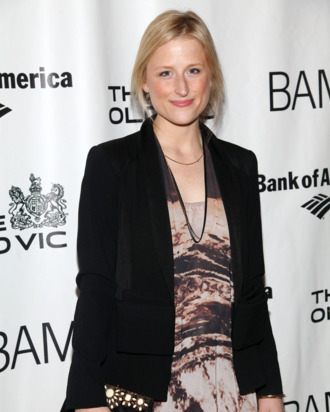 Mamie Gummer attends the opening night of