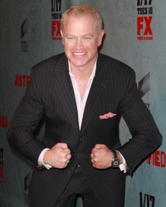 LOS ANGELES, CA - JANUARY 10: Actor Neal McDonough attends the premiere of FX Networks & Sony Pictures Television's