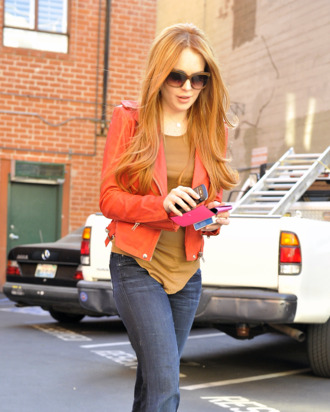Lindsay Lohan debuts her newly dyed redhair in Beverly Hills, CA. Lindsay was seen leaving a doctor's office and was picked up by Ali Lohan. She was all smiles, joking with photographers, especially one who was excited about her returning to her red hair.<P>Pictured: Lindsay Lohan<P><B>Ref: SPL369149 080312 </B><BR/>Picture by: Fern / Splash News<BR/></P><P><B>Splash News and Pictures</B><BR/>Los Angeles:310-821-2666<BR/>New York:212-619-2666<BR/>London:870-934-2666<BR/>photodesk@splashnews.com<BR/></P>