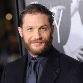 Actor Tom Hardy attends the 'This Means War' Los Angeles premiere held at Grauman's Chinese Theatre on February 8, 2012 in Hollywood, California.