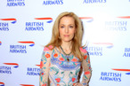 Gillian Anderson at the British Airways gala-dinner in Moscow, Russia