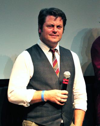 Actor Nick Offerman