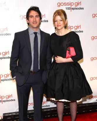 Executive producers Josh Schwartz (L) and Stephanie Savage