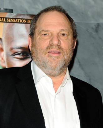 Producer Harvey Weinstein