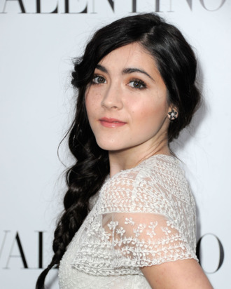 BEVERLY HILLS, CA - MARCH 27: Actress Isabelle Fuhrman at Valentino Rodeo Drive Flagship store opening on March 27, 2012 in Beverly Hills, California. (Photo by Frazer Harrison/Getty Images)