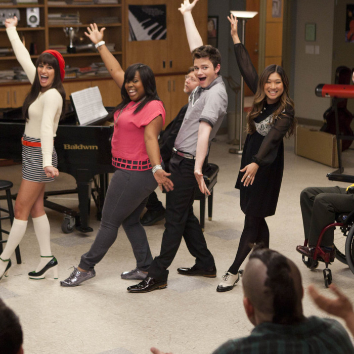 GLEE: The glee club performs in the