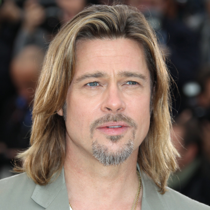 US actor Brad Pitt poses during the photocall of